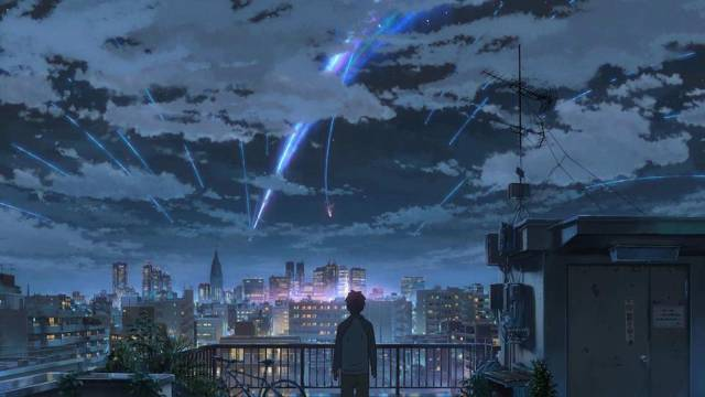 日本动画电影《你的名字》票房破亿 原来配音演员的颜值这么高