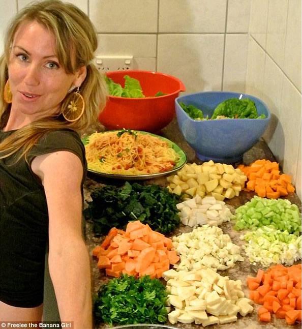 澳一女子水果减肥法