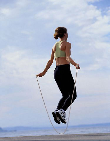 女性或男性跳绳的好处