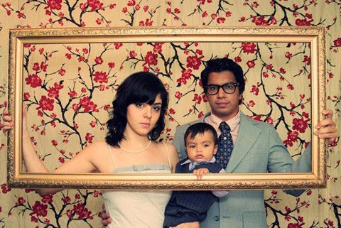 各种有趣的创意全家福照片