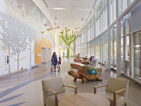 国外设计欣赏---幼儿园似的儿童医院