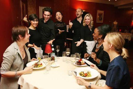 盘点那些意想不到的奇葩餐厅!