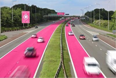 """英国保险商为女性打造专属的""""粉色车道"""""""
