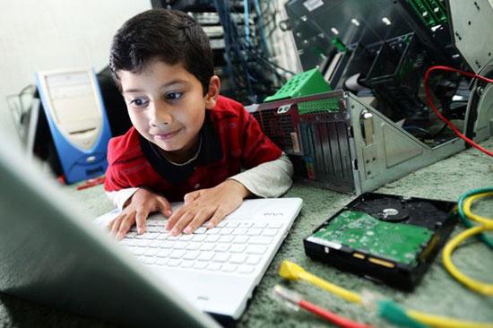 英国5岁男孩已是微软公司认证电脑专家