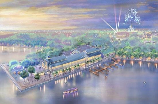 上海迪士尼乐园设计图曝光 充满魔幻色彩