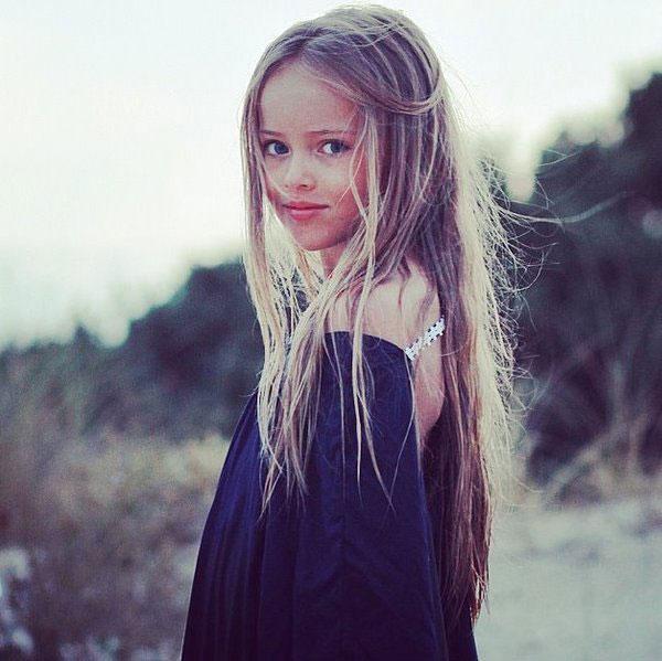 Instagram观光:最美丽的俄罗斯8岁女孩