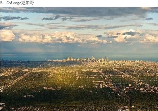 各国城市俯瞰图!看到北京的时候真是醉了!