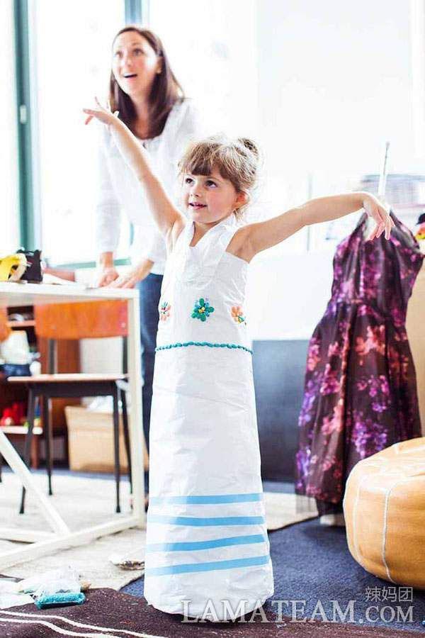 4岁的Mayhem 最小的设计师兼模特