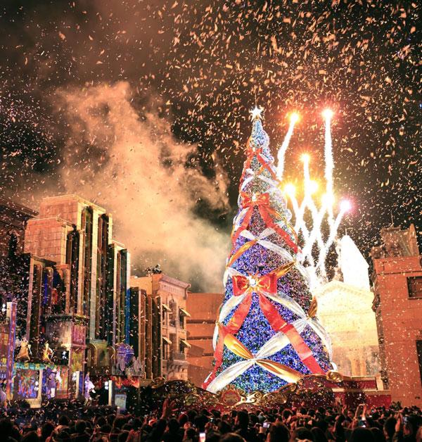 盘点世界各地最美圣诞树