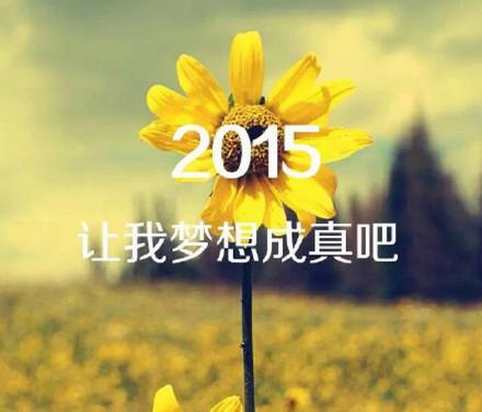2015,许下我们心中最美好的愿望吧!