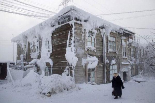 世界上最冷的城市:零下60多度!