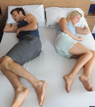 从睡姿看情侣之间的关系 看看你们属于哪种呢?