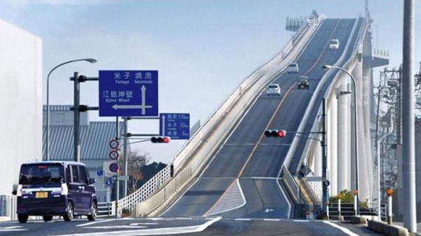 这是桥还是过山车?吓傻了开车的新手们