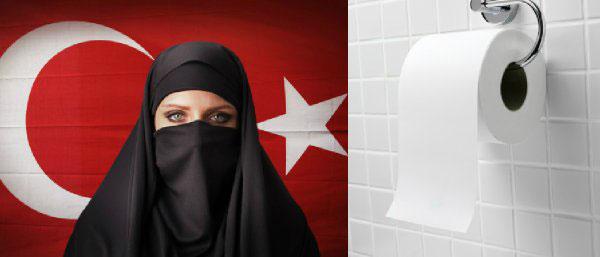 伊斯兰国家土耳其终于可以用厕纸擦屁股