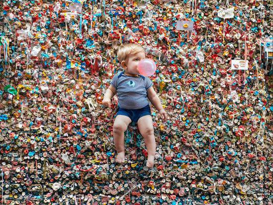 这是亲爹么?调皮老爸与熊孩子的冒险挑战儿童摄影