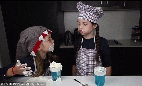 澳大利亚两个小女孩网络教烘焙 月赚80万人民币(图)