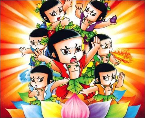 绝对经典:中国男人娶媳妇等于娶了七个葫芦娃