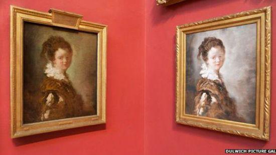 """英国画廊挂中国画师临摹名家作品 邀民众参加""""辨真识假""""的展览"""