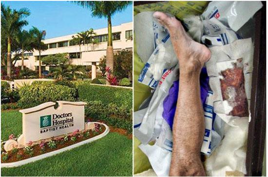 男子截肢后医院直接把带有名牌的腿扔垃圾箱,警方以为发生凶案