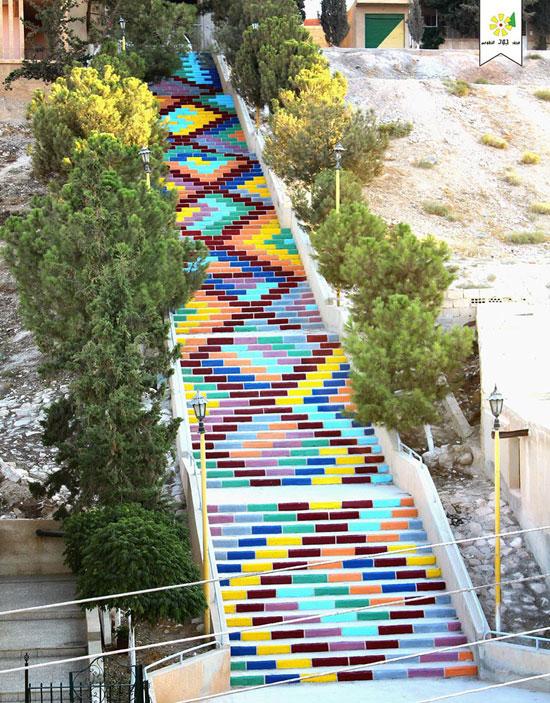 如此有创意楼梯台阶,再也不怕走楼梯了!