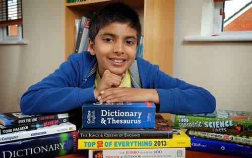 英国10岁男孩门萨测试得分162 创世界纪录