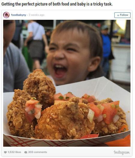 美国2岁男童成点评网名人 和家人吃遍纽约不用钱