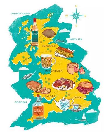 想体验英国就不能错过这10种美食