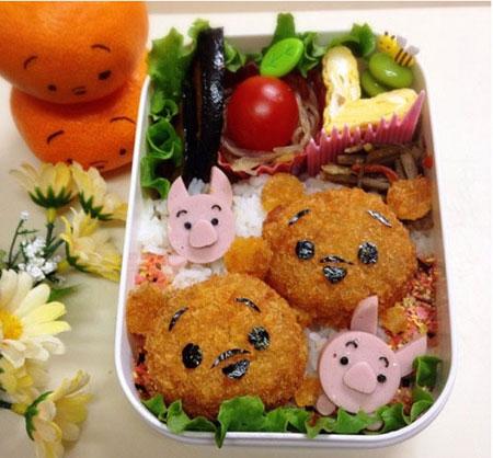 日本各种超萌卡通便当!萌到你舍不得吃