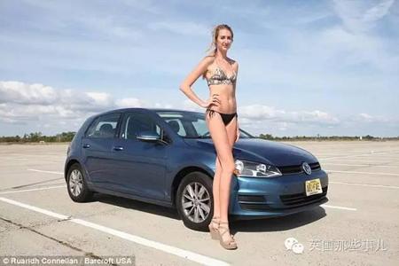 这姑娘有着全世界女性最长的腿 身高1米98腿长1.24米