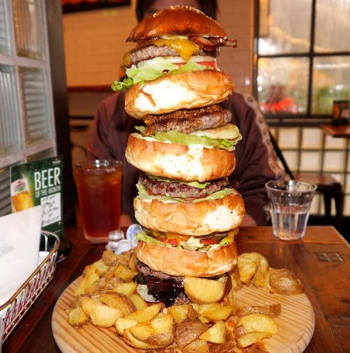日本人与汉堡的爱恨情仇 任性改良各种奇葩口味