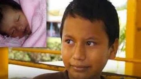 墨西哥11岁贫困男孩成为最年轻爸爸 称要努力工作养育儿子
