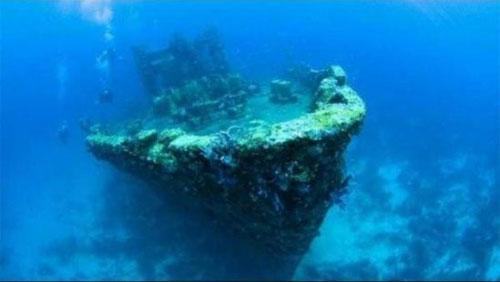 盘点世界神秘的海底沉船:吸引大批探险家寻宝
