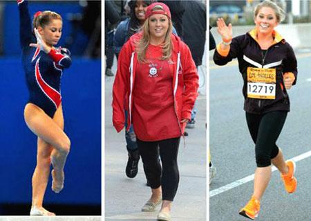 曾经的体操奥运冠军差点被肥胖毁掉,坚持跑步成功减肥