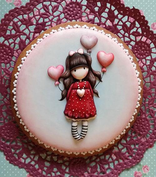 世界上最美的饼干:匈牙利甜品店以刺绣为灵感做饼干