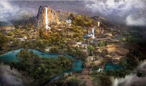 上海迪士尼乐园倒计时100天,实景照片大饱眼福