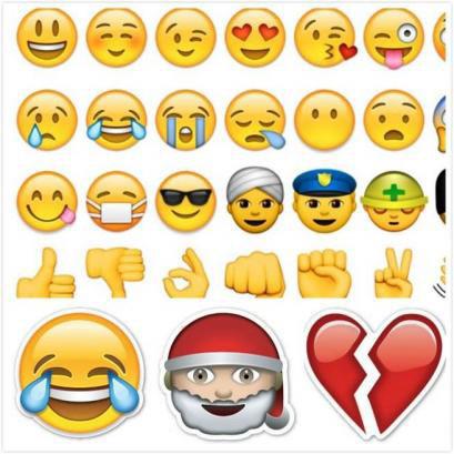 Emoji符号表达心声 各国人最偏爱什么表情?