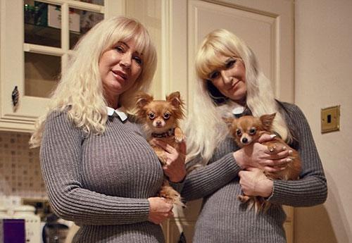 英国大妈花4万英镑整容 只为看起来更像女儿