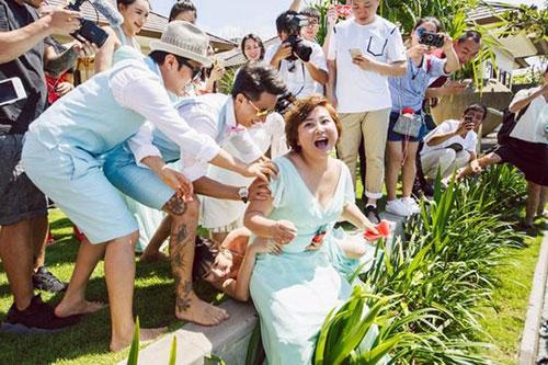 包贝尔为婚礼闹伴娘风波再道歉:让饺子知道爸爸能知错就改