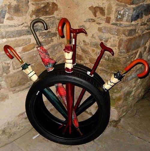 12种废旧轮胎的妙用绝对亮瞎你的眼