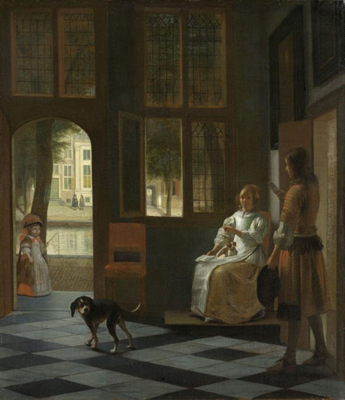 惊呆!这幅1670年的画里有居然有iPhone!