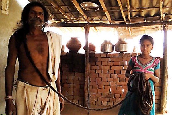印度男子发长近19米 将申请吉尼斯世界纪录