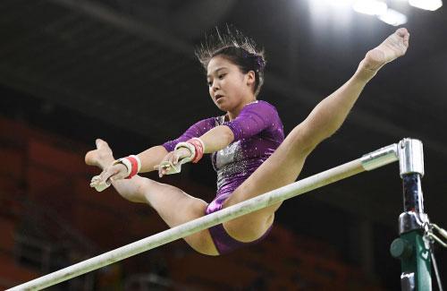 挑战更美丽 奥运女运动员的血汗痕迹