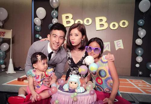 贾静雯宣布怀上第三胎 咘咘要当小姐姐了耶!