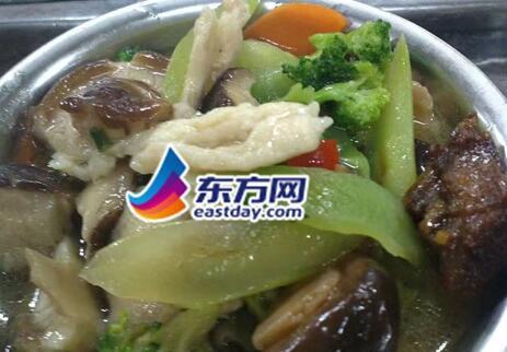 高校食堂推网红菜 3块5一份蓝瘦香菇你买不买